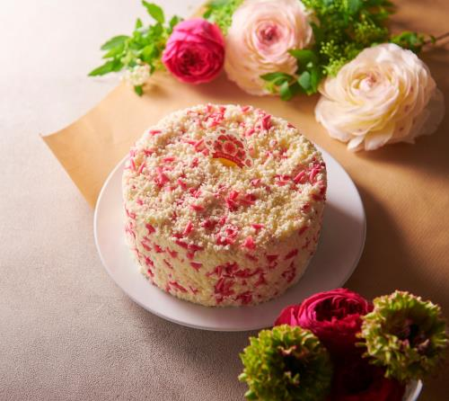 Chateraise_Mother's Day Flower Shower Whole Cake 14cm $32