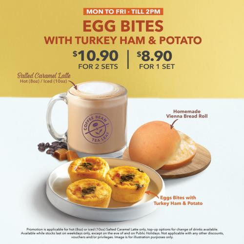 CBNTL_Turkey Ham Egg Bites and Salted Caramel Latte