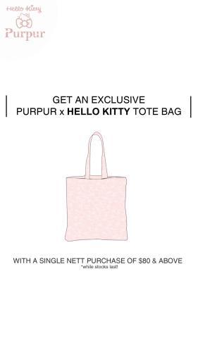 Purpur x Hello Kitty
