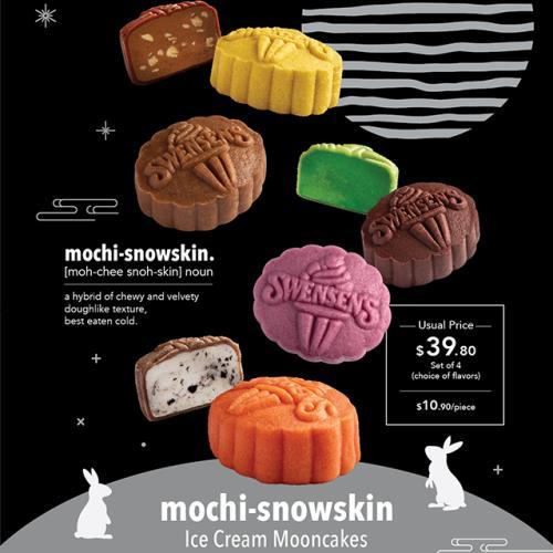 Swensen's mochi-snowskin Ice Cream Mooncake