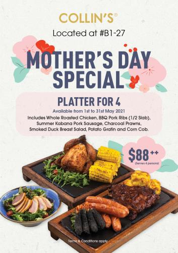 Mother's Day Platter for 4