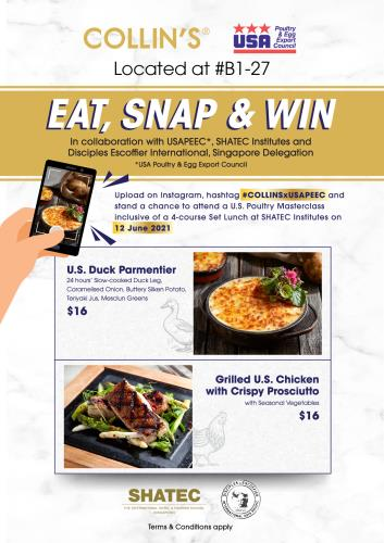 MAY Promotion- Eat, Snap and Win