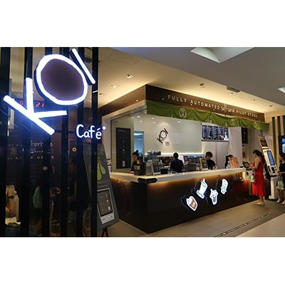 KOI Cafe Shopfront