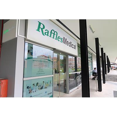 Raffles Medical Shopfront