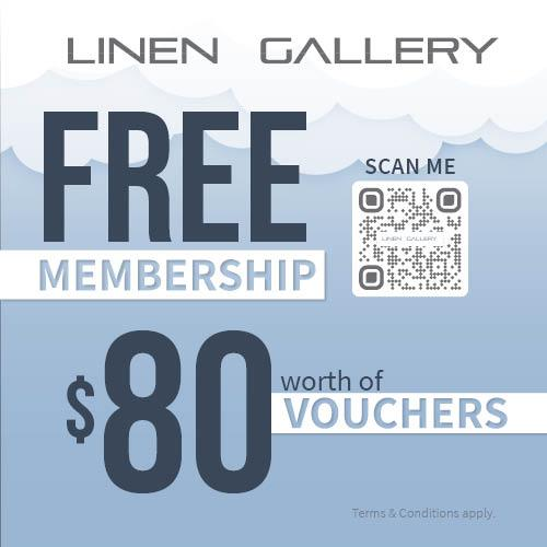 Linen Gallery_Nex Free Membership 500 x 500px