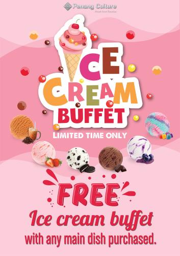 Free Ice Cream Buffet Poster_A4 Mar 2020