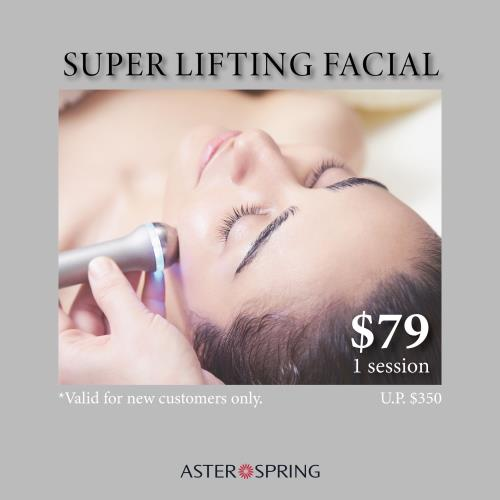 AsterSpring Signature Facial at $79