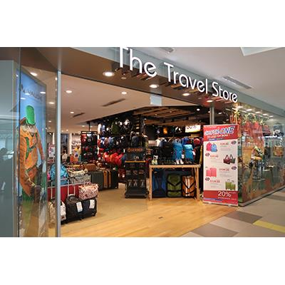 The Travel Store Shopfront