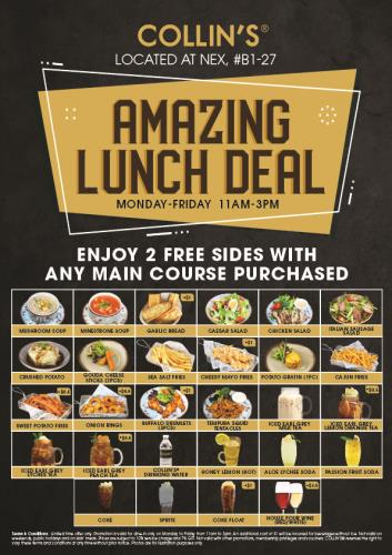 Collins Lunch Deal