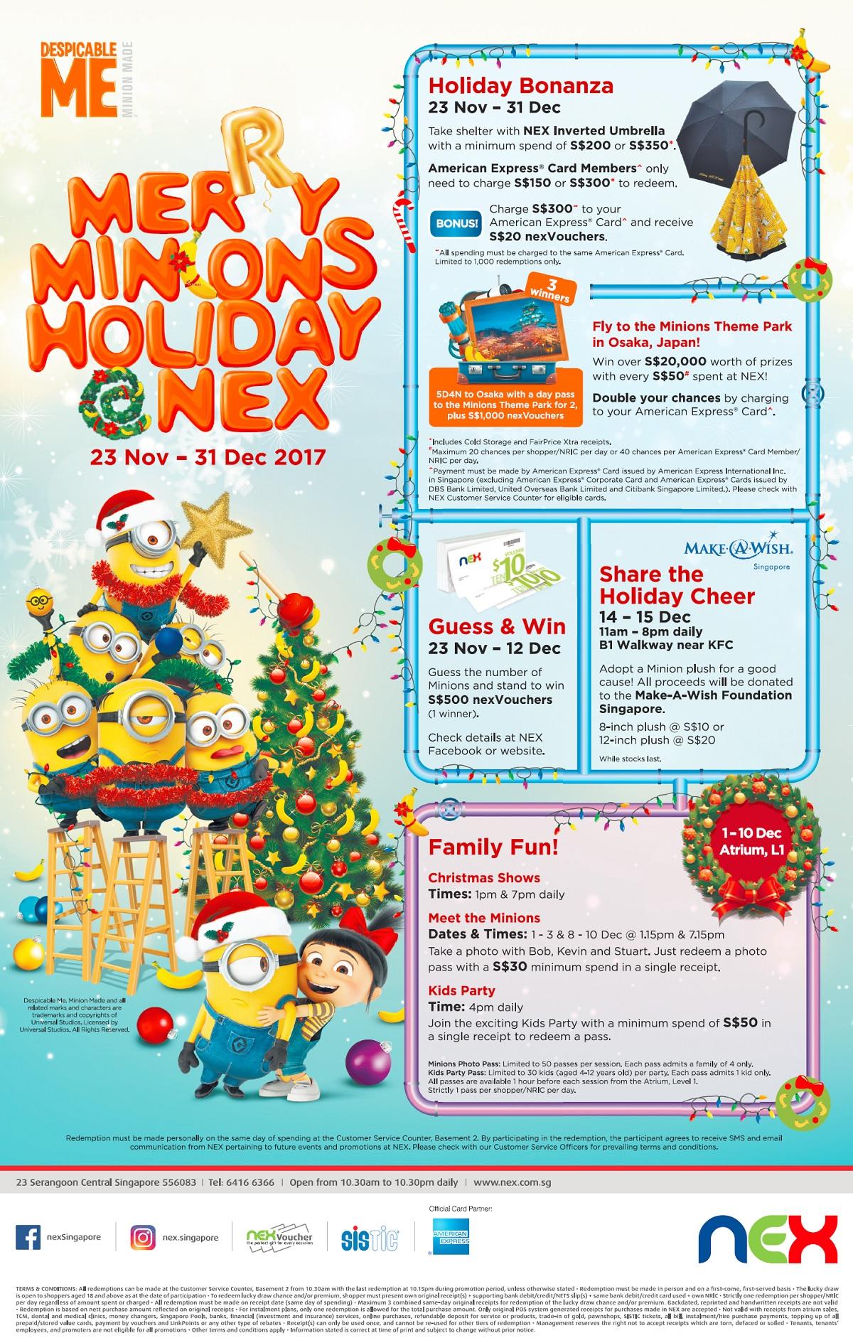 NEX Christmas 2017 Campaign Web Poster 1