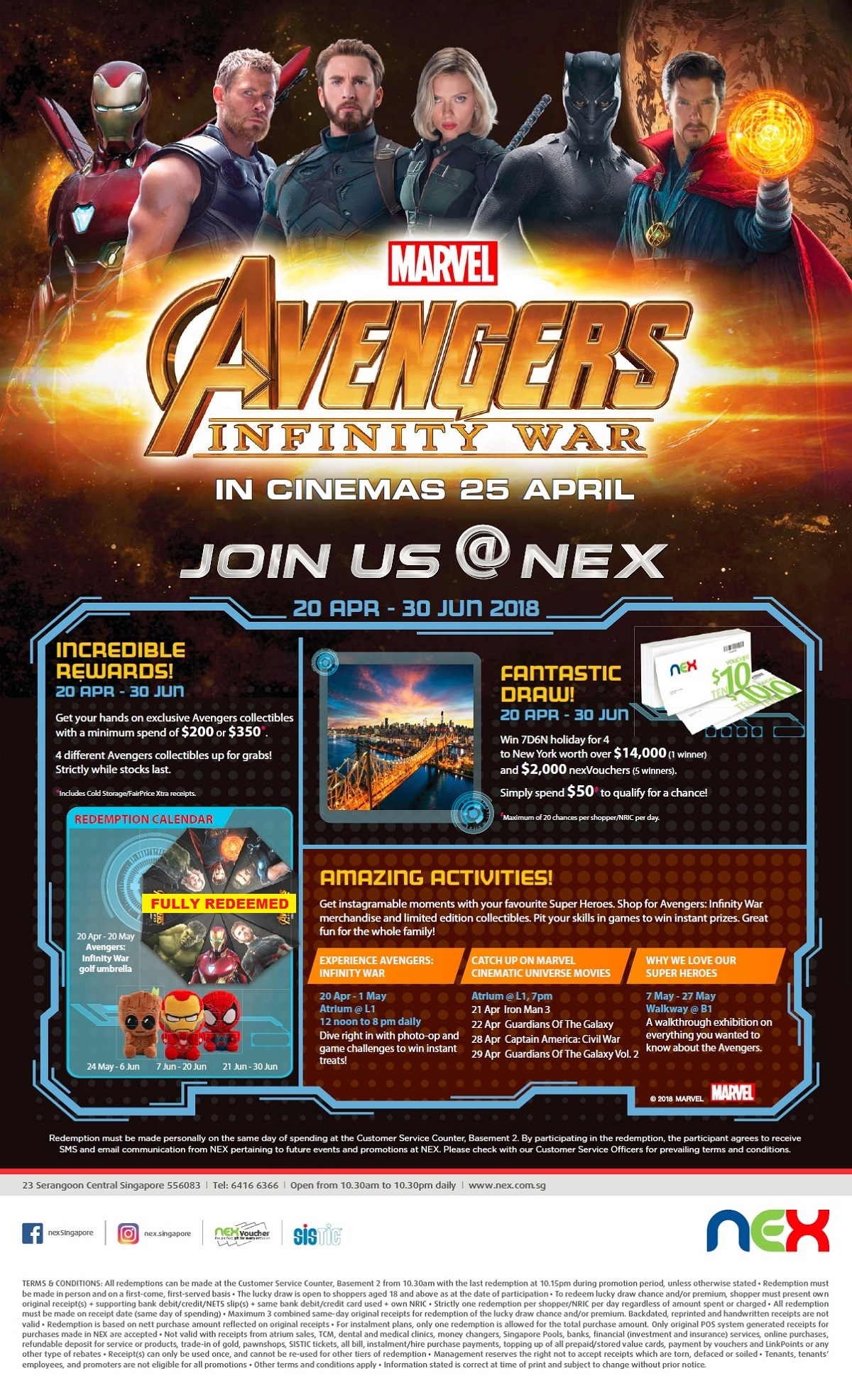 Avengers 2018 Campaign Web Poster 1 (umbrella redeemed)