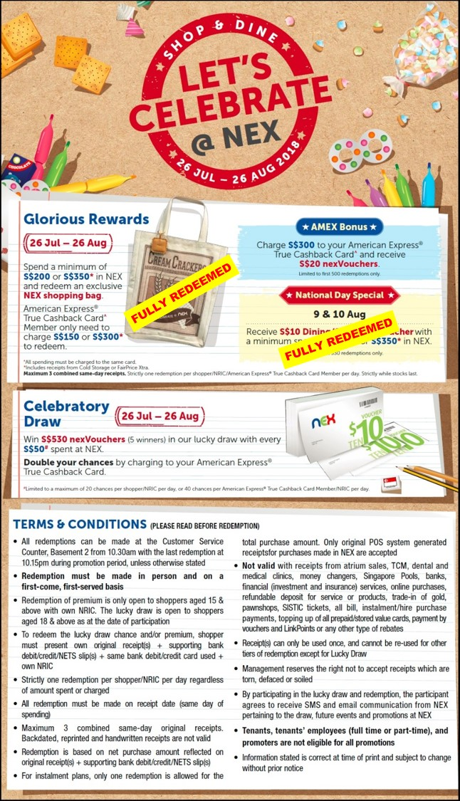T&C poster_NationalDay vouchers and shopping bag fully redeemed