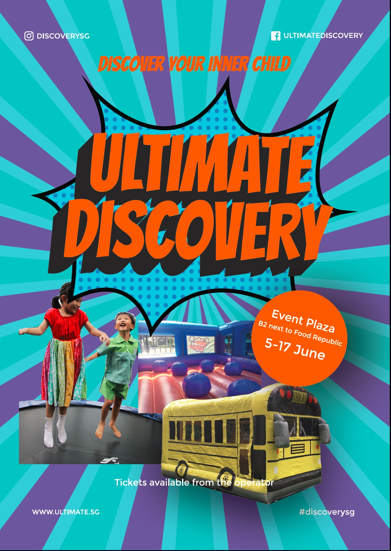 Untimate Discovery poster 1