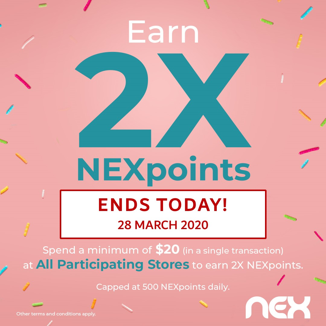 2X Ends Today_fb