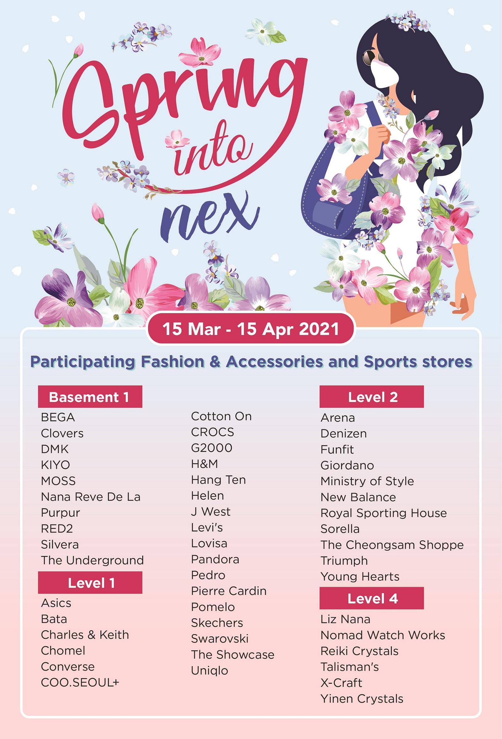 Spring into Fashion_A4 Poster Listing_FA2